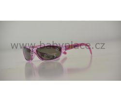Sluneční brýle pro děti Crazy Dog Crystal Fun Purple