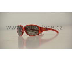 Sluneční brýle pro děti Crazy Dog Crystal Fun Red