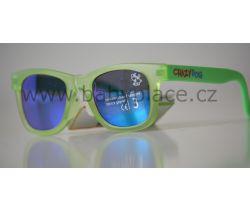 Sluneční brýle pro děti Crazy Dog Little Artist Green