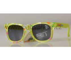 Sluneční brýle pro děti Crazy Dog Little Artist Green Bubbles