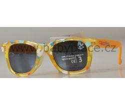 Sluneční brýle pro děti Crazy Dog Little Artist Orange
