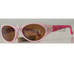 Sluneční brýle pro děti Crazy Dog Soft Flex Pink