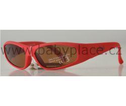 Sluneční brýle pro děti Crazy Dog Soft Flex Red