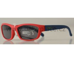 Sluneční brýle pro děti Crazy Dog Soft Flex Red/Blue