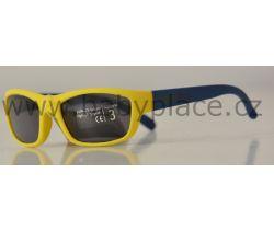 Sluneční brýle pro děti Crazy Dog Soft Flex Yellow