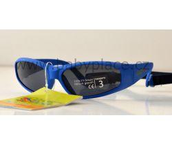 Sluneční brýle pro děti s gumičkou Crazy Dog Kids modrá