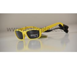 Sluneční brýle pro děti s gumičkou Crazy Dog Yellow