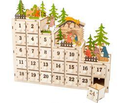 Adventní kalendář Small Foot Betlém
