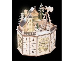 Adventní kalendář s vánoční pyramidou Small Foot