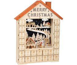 Adventní kalendář Small Foot  Veselé Vánoce