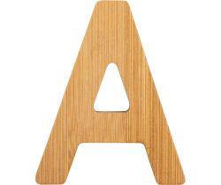Bambusové písmeno Small Foot