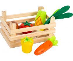 Bedýnka se zeleninou do prodejny Small Foot