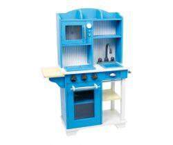 Dětská dřevěná modrá kuchyňka Small Foot