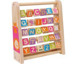 Dřevěná abeceda Small Foot Učíme se anglicky