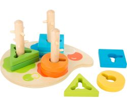 Dřevěná hra Small Foot Barvy a tvary