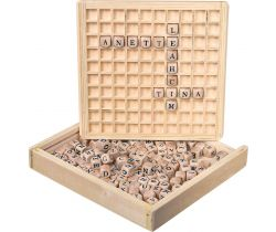 Dřevěná hra Small Foot Scrabble
