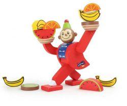 Dřevěná motorická hra Small Foot Balancující opička