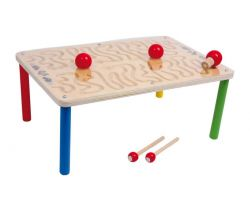 Dřevěná motorická hra Small Foot Stůl Hra s magnety