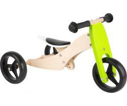 Dřevěná tříkolka 2v1 Small Foot Trike