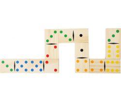 Dřevěné hry Small Foot Obří domino