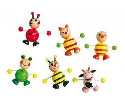 Dřevěné magnetky 6 ks Small Foot Zvířátka