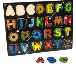 Dřevěné puzzle Small Foot Abeceda