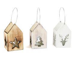 Dřevěné vánoční lucerny 3 ks Small Foot