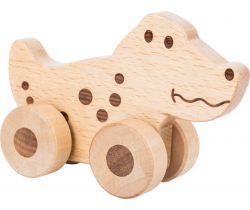 Dřevěné zvířátko na kolečkách 1 ks Small Foot