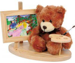 Dřevěný dekorativní stojánek s medvídkem Small Foot