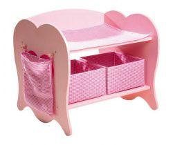 Dřevěný přebalovací pult pro panenky Small Foot