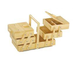 Dřevěný skládací patrový box na cokoliv Small Foot