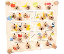 Edukativní tabulka Small Foot Anglická abeceda a čísla