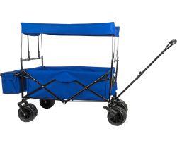 Kovový skládací vozík se stříškou Small Foot