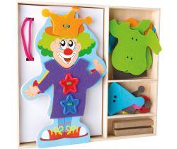 Oblékání klauna Small Foot