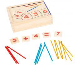 Počítání pro 1. třídu v krabičce Small Foot