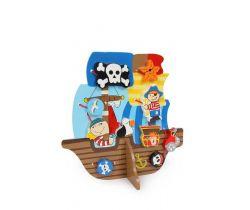 Provlékací hra pirátská loď Small Foot