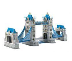 Třívrstvé pěnové 3D puzzle Small Foot  Tower bridge