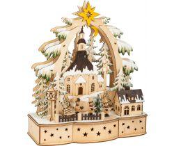 Vánoční dekorační lampa Small Foot  koledníci