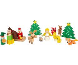 Vánoční hra zvířátka v lese Small Foot