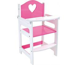 Vysoká dřevěná židle Small Foot