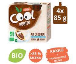 Snack mléčné BIO kapsičky 4x85g Vitabio Kakao