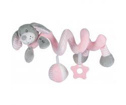 Spirálka BabyMix Dog Pink