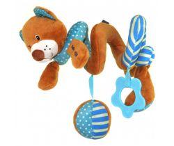 Spirálka BabyMix Medvídek hnědý