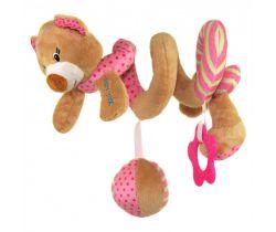 Spirálka BabyMix Medvídek růžový