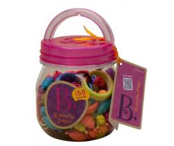 Spojovací korále a tvary 150 ks B-Toys Beauty Pops