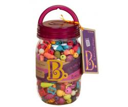 Spojovací korále a tvary 275 ks B-Toys Beauty Pops