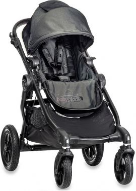 Sportovní kočárek s černou konstrukcí Baby Jogger City Select