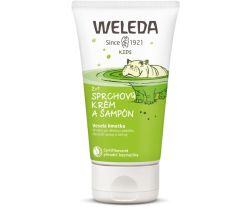 Sprchový krém a šampón 150 ml Weleda 2v1 Veselá limetka