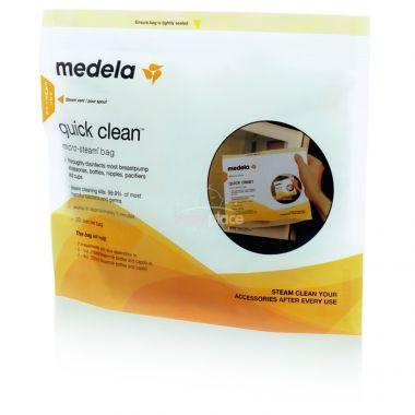 Sterilizační sáčky do mikrovlnné trouby 5 ks Medela Quick Clean