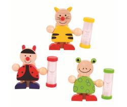 Stojánek na kartáček s přesýpacíma hodinama 1 ks Bigjigs Toys
